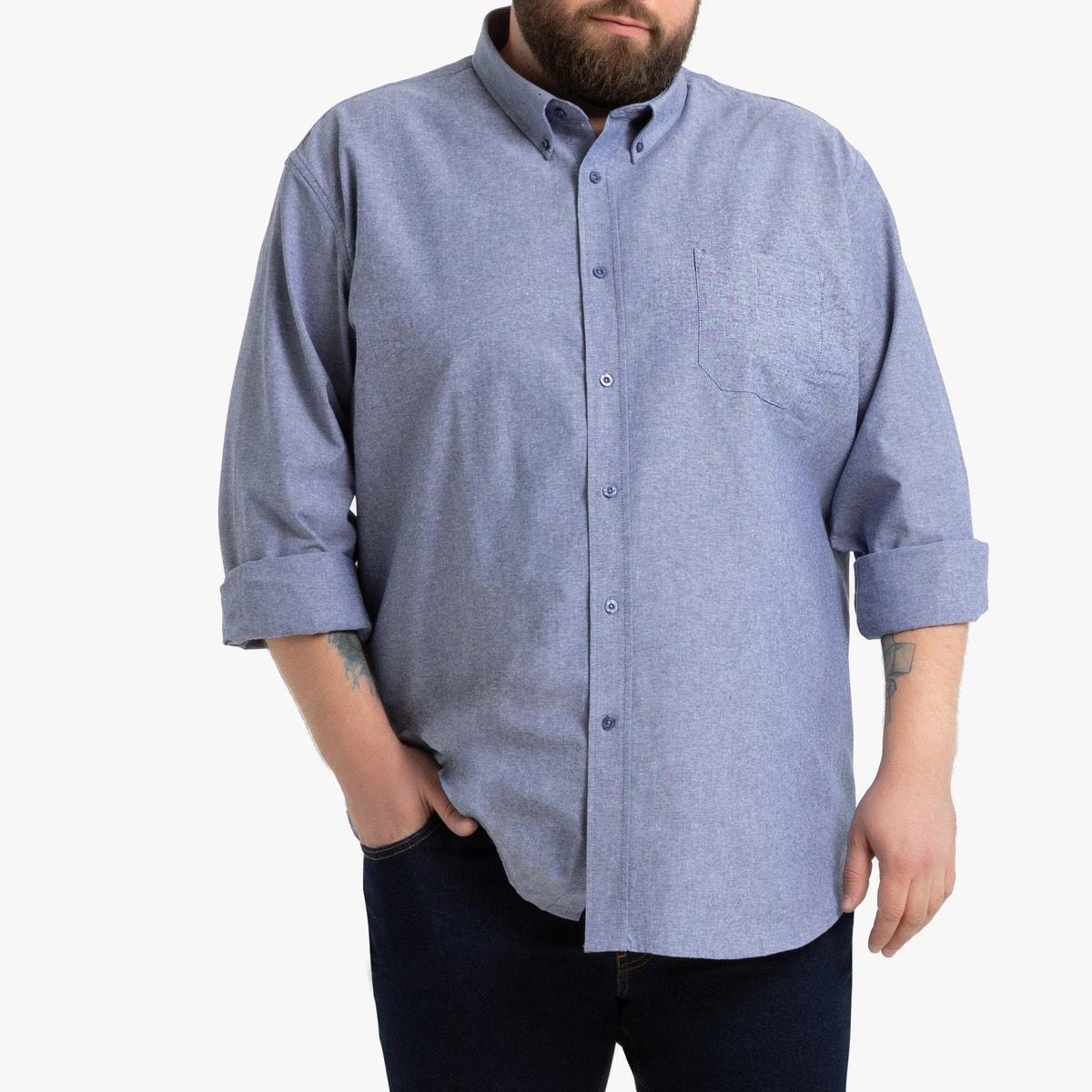 Βαμβακερό πουκάμισο ΜΠΛΕ ανδρασ   μπλούζες   πουκάμισα   πουκάμισα