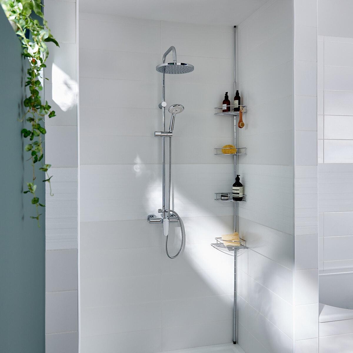 Επεκτεινόμενη γωνιακή ραφιέρα για το μπάνιο ή την ντουζιέρα σπιτι   μπάνιο   αξεσουάρ μπάνιου