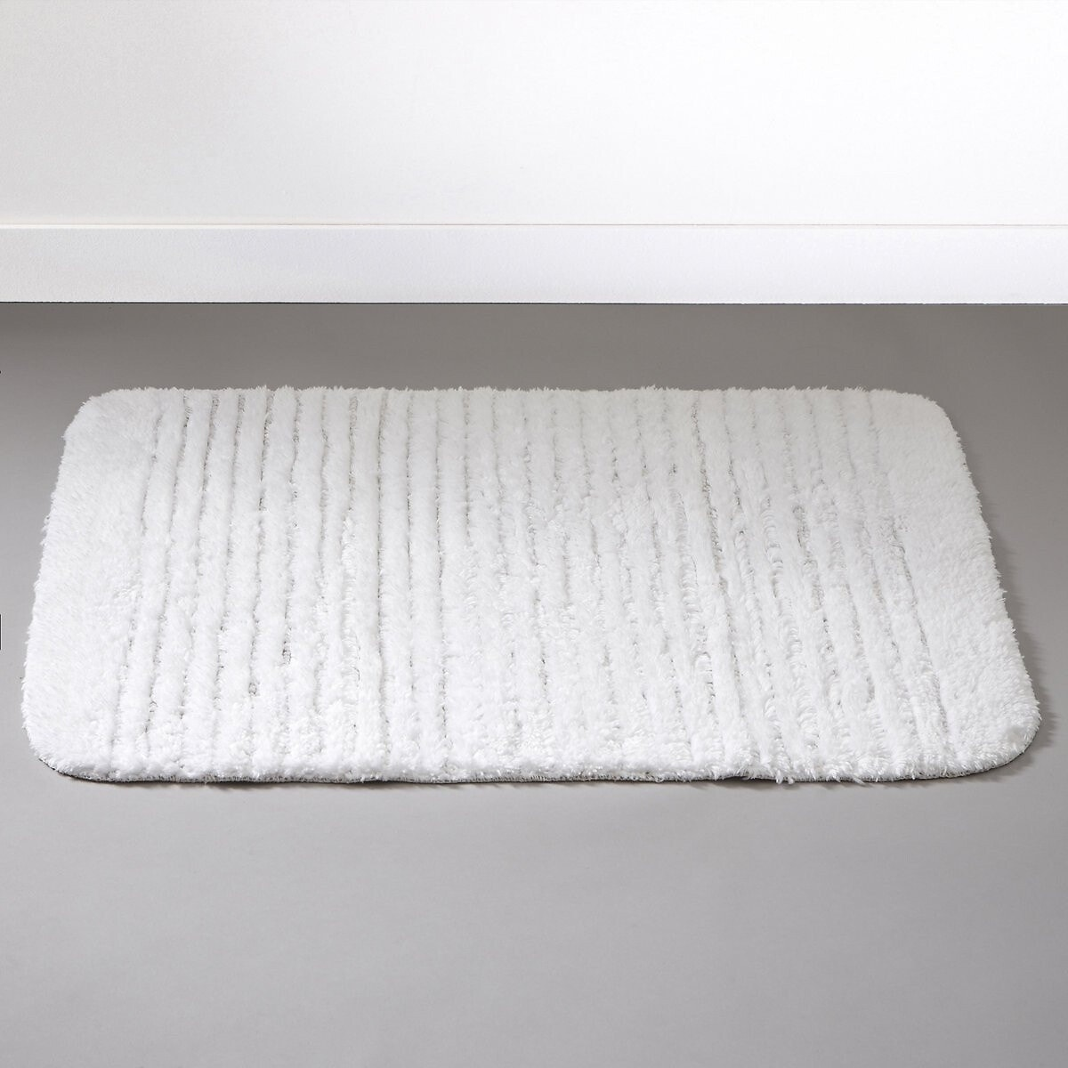 Μαλακό χαλάκι μπάνιου, 110 γρ. τ.μ. ΛΕΥΚΟ