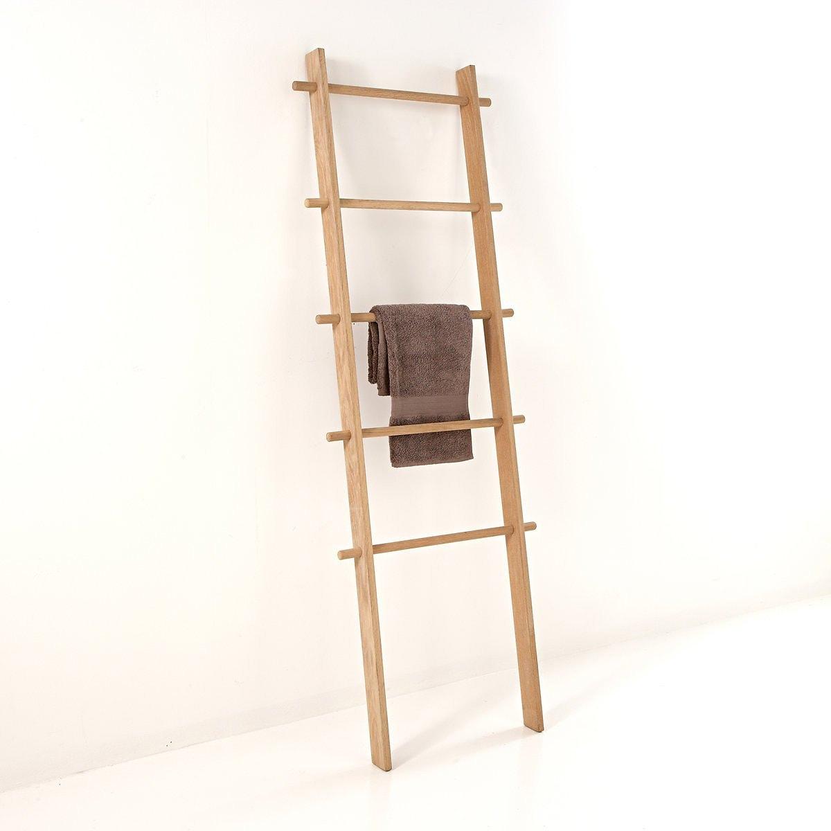 Ξύλινη σκάλα για πετσέτες με 5 θέσεις Scayle σπιτι   διακόσμηση   κρεμάστρες καλόγεροι