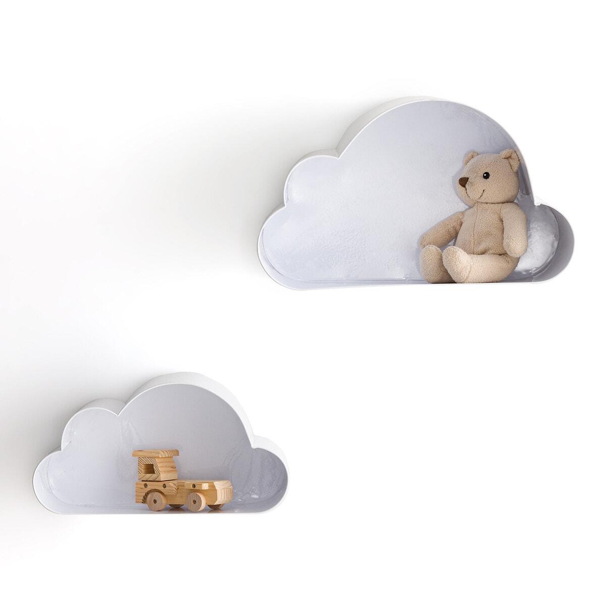 Ράφια τοίχου σε σχήμα σύννεφου Spacielle (σετ των 2) σπιτι   διακόσμηση   οργάνωση γραφείου