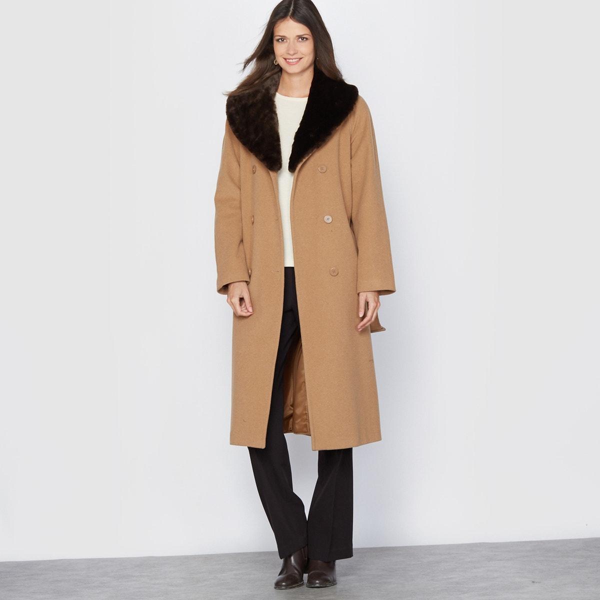Μακρύ παλτό (110 εκ.) ΚΑΦΕ γυναικα   πανωφόρια   παλτό