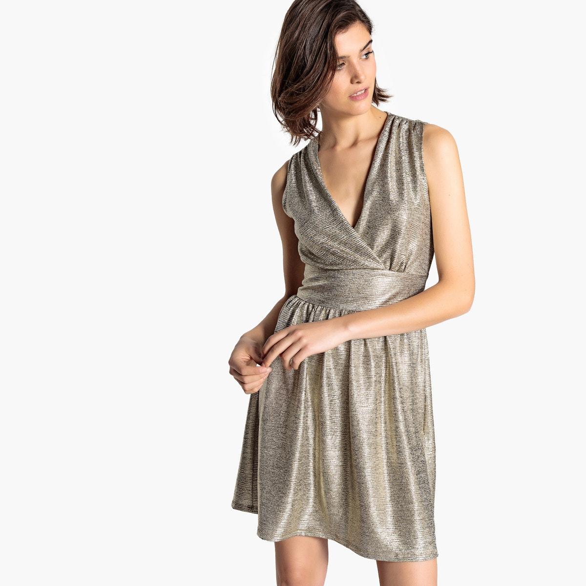 Αμάνικο Midi Φόρεμα