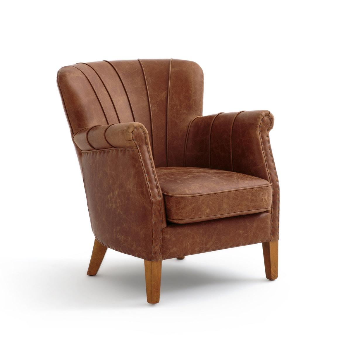 Δερμάτινη πολυθρόνα NOTTINGHAM σπιτι   έπιπλα   καρέκλες