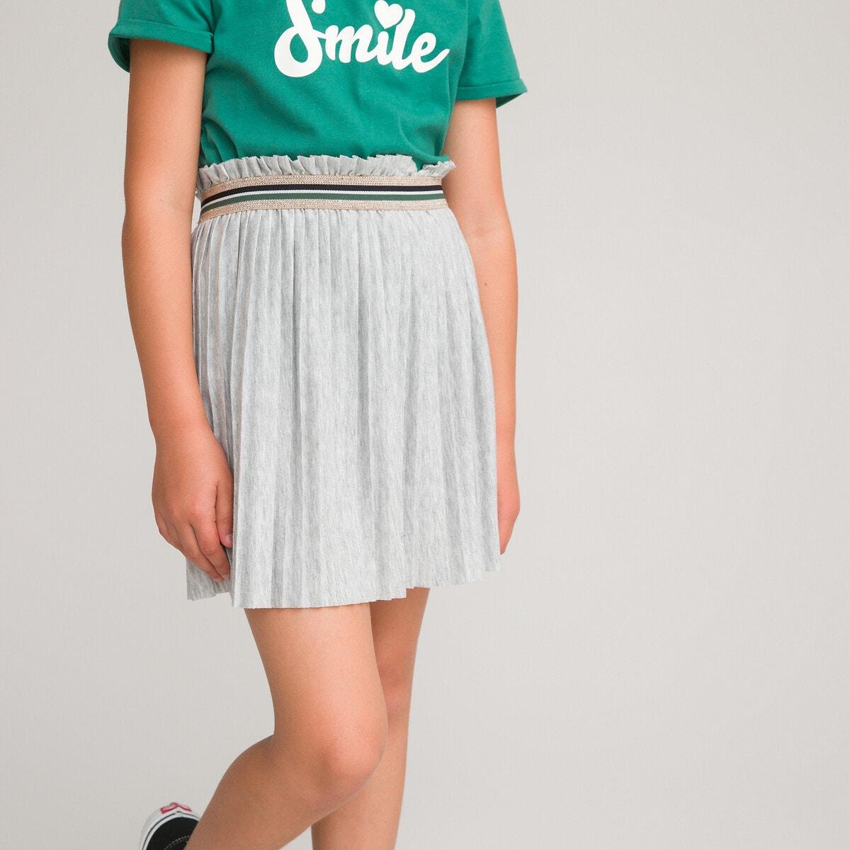 Πλισέ φούστα με λάστιχο στη μέση, 3-12 ετών