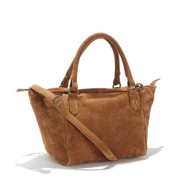 8222b9e1f6 Δερμάτινη τσάντα. Σχετικά Προϊόντα. Δίχρωμη τσάντα καλάθι. LA REDOUTE  COLLECTIONS