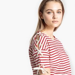 Striped red