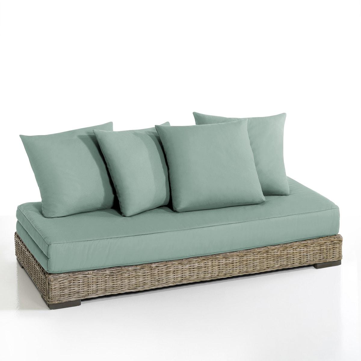 Καναπές-κρεβάτι από ρατάν kubu, Giada
