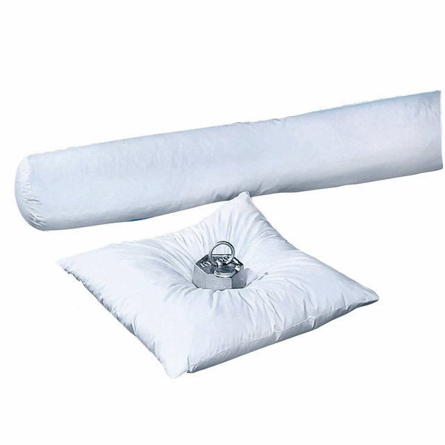 Πουπουλένιο μαξιλάρι-καραμέλα