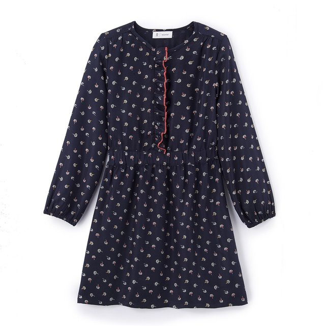 Φλοράλ φόρεμα Α γραμμή, 3-12 χρονών