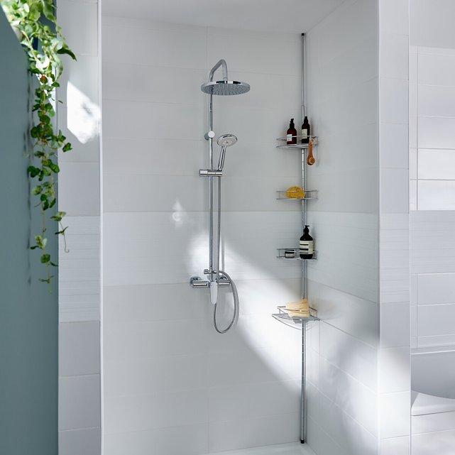 Επεκτεινόμενη γωνιακή ραφιέρα για το μπάνιο ή την ντουζιέρα