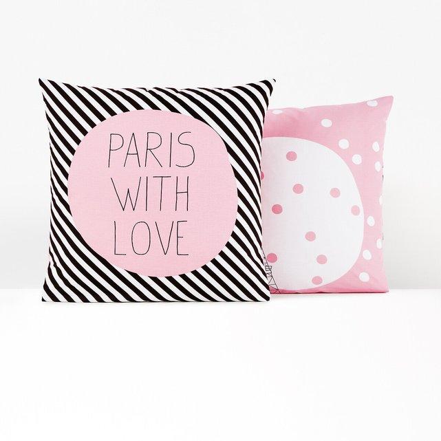 Μαξιλαροθήκη μονή Paris For Ever