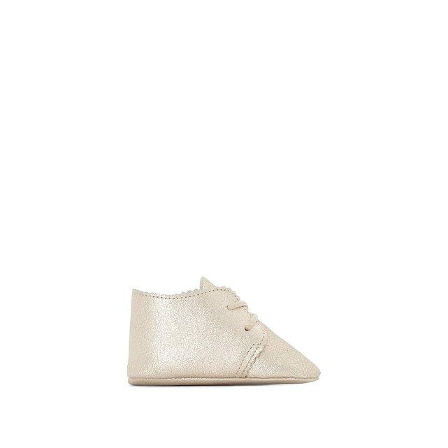 Δερμάτινα βρεφικά παπούτσια