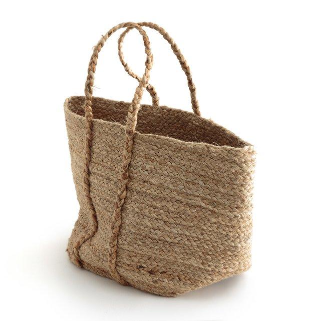 Τσάντα από φυσική γιούτα NATURALLE