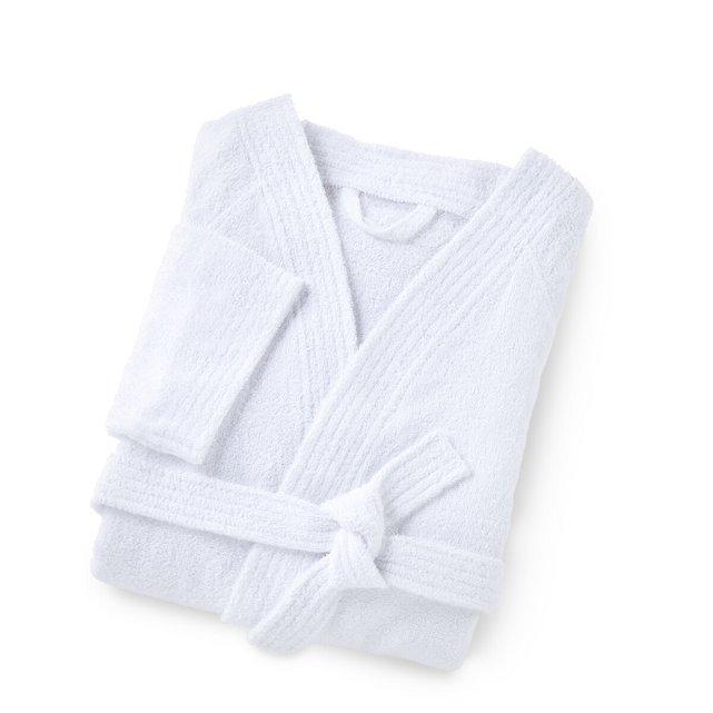 Cotton Kimono-style Bathrobe, 350 g m²