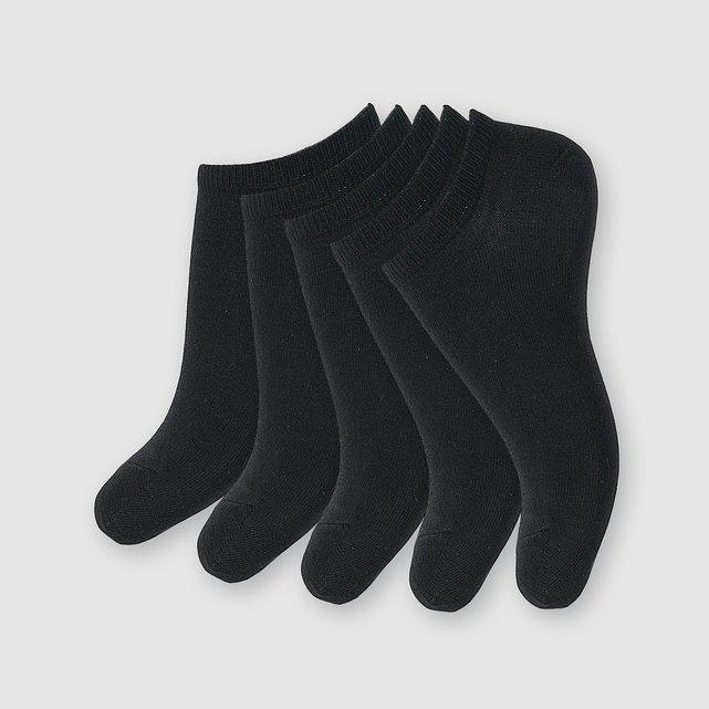Σετ με 5 ζευγάρια χαμηλές κάλτσες