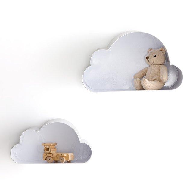 Ράφια τοίχου σε σχήμα σύννεφου Spacielle (σετ των 2)