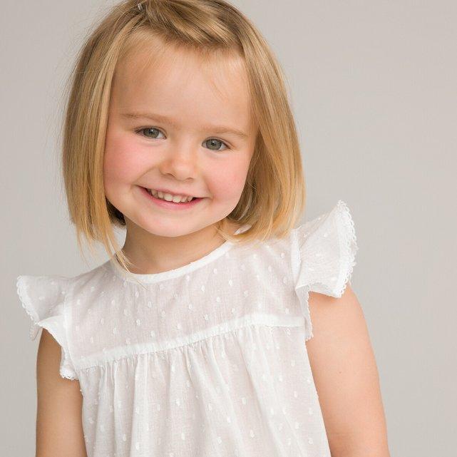 Αμάνικη μπλούζα με βολάν, 1 μηνός - 3 ετών