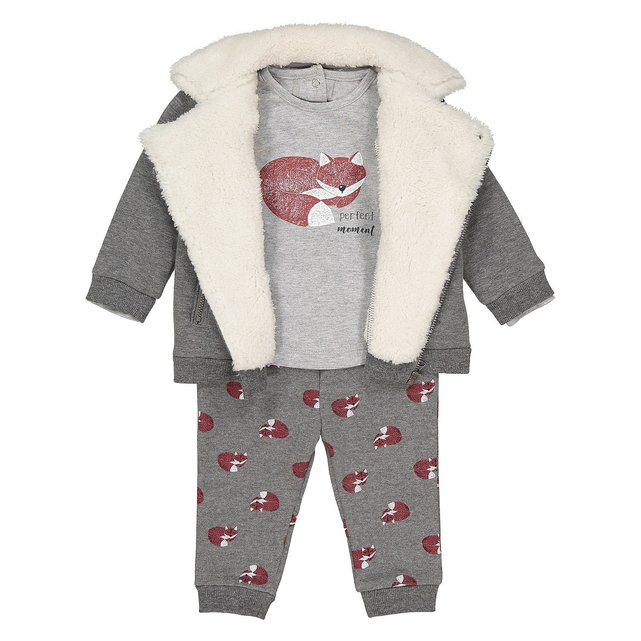 Σύνολο μπλούζα, παντελόνι + μπουφάν, 1 μηνός-3 ετών