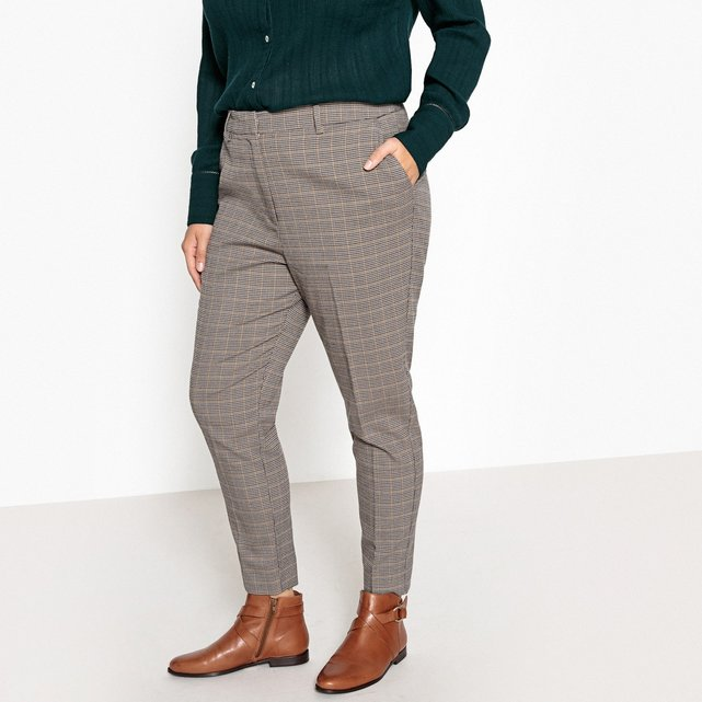 Ίσιο καρό παντελόνι