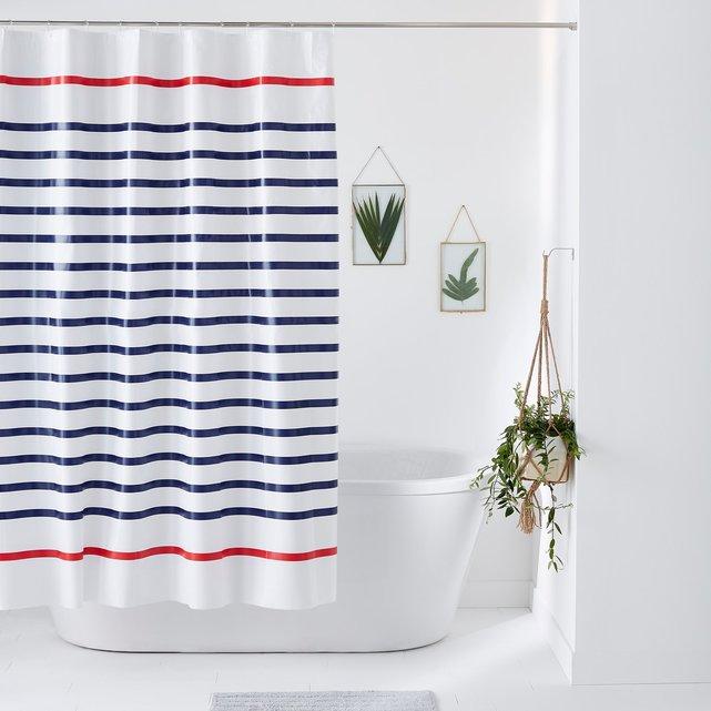 Ριγέ κουρτίνα μπάνιου MARINIERE