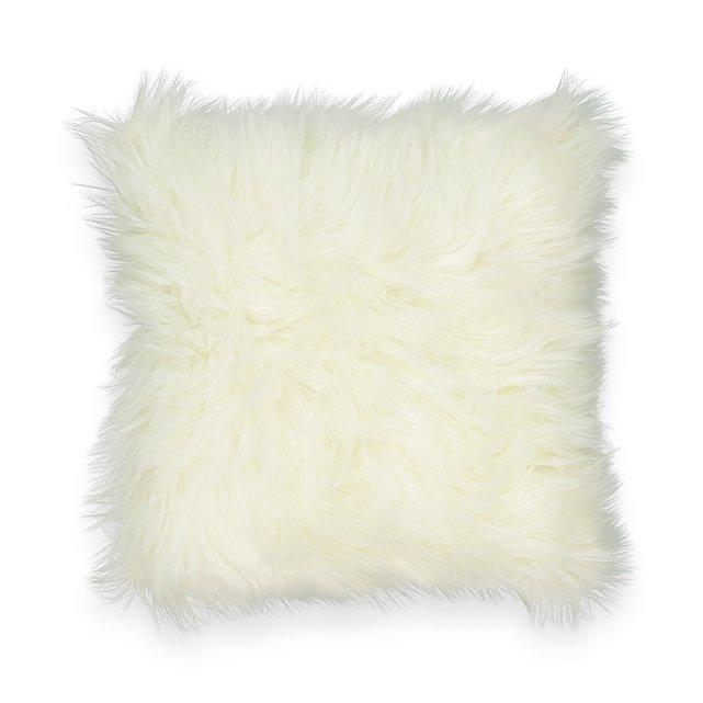 Κάλυμμα μαξιλαριού με συνθετική γούνα LIVIO