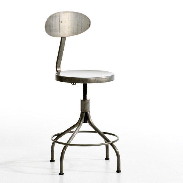 Ψηλή μεταλλική καρέκλα Alliage