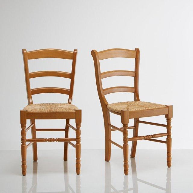 Καρέκλα από μασίφ οξιά Authentic Style (σετ των 2)