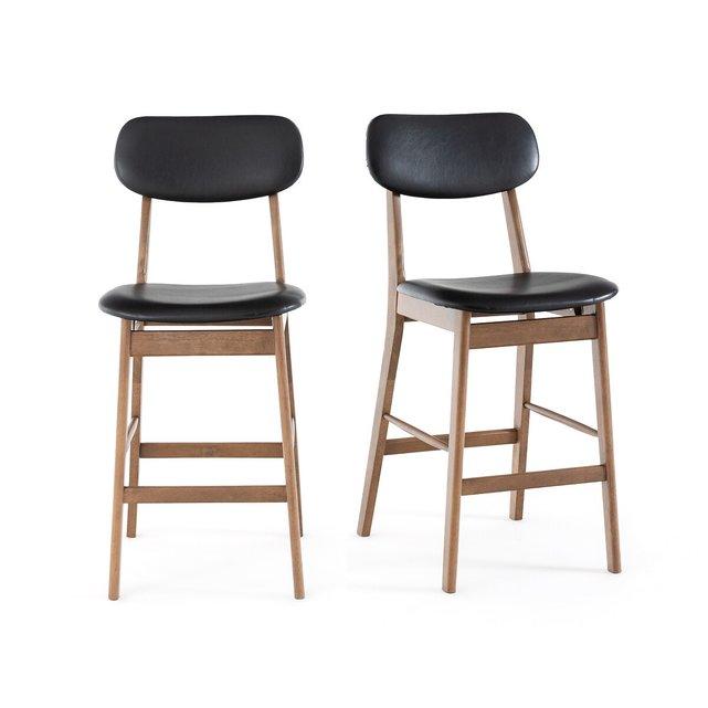 Καρέκλα μπαρ WATFORD (σετ των 2)