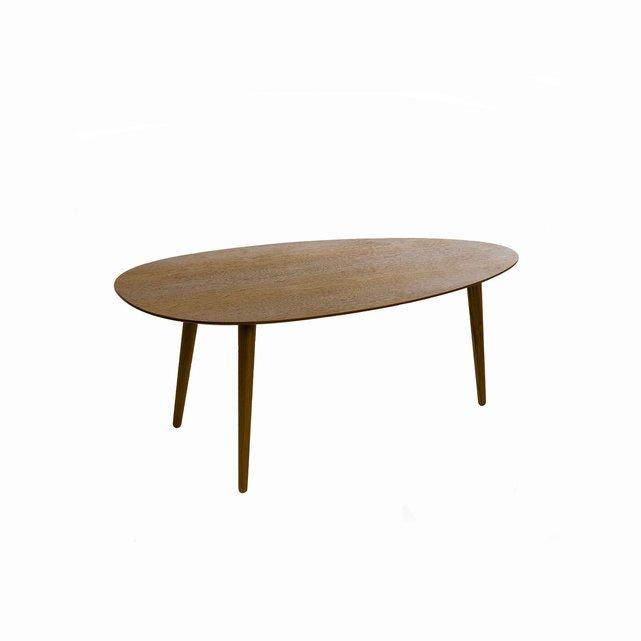 Τραπέζι μέσης - σαλονιού από καρυδιά, Flashback (μήκος 100εκ.)