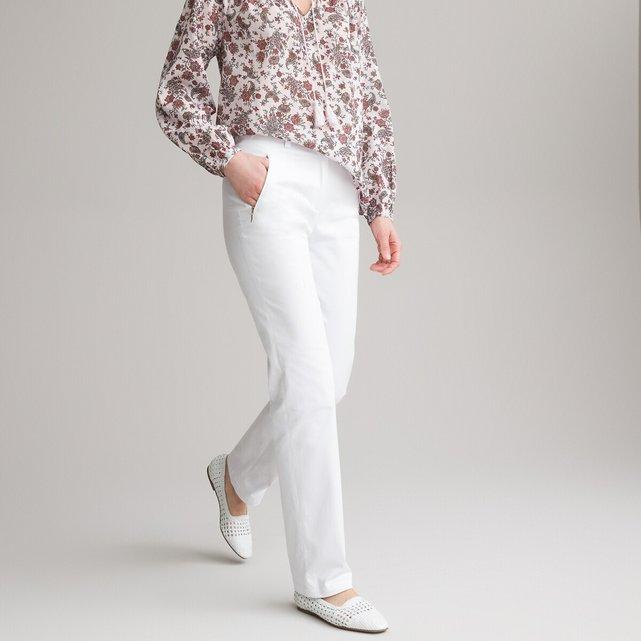 Ελαστικό σατέν παντελόνι