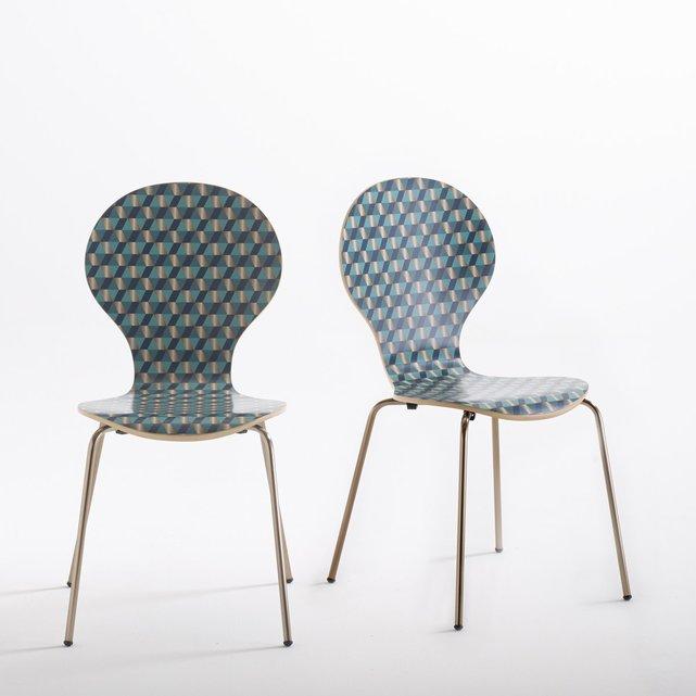 Εμπριμέ καρέκλα Watford (σετ των 2)