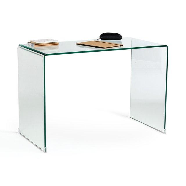 Γραφείο κονσόλα από σκληρυμένο γυαλί, Joan