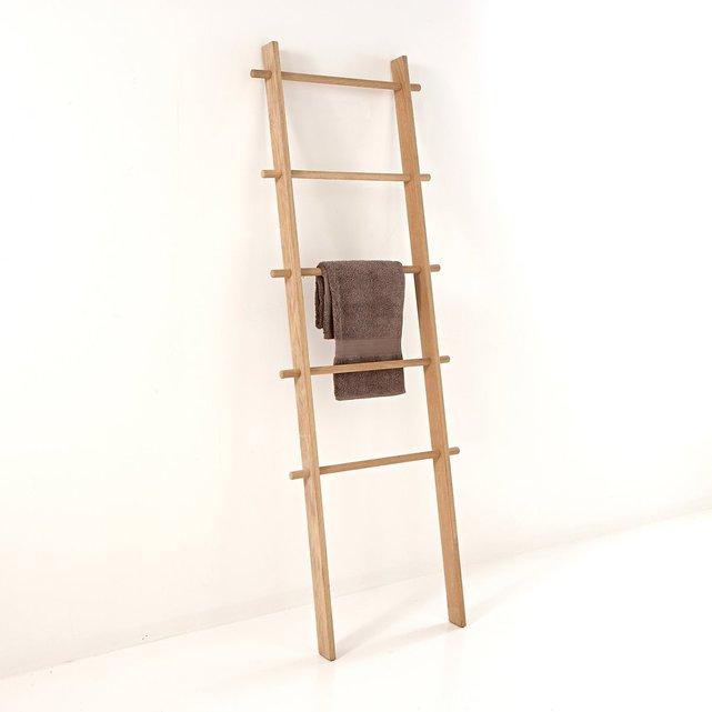 Ξύλινη σκάλα για πετσέτες με 5 θέσεις Scayle