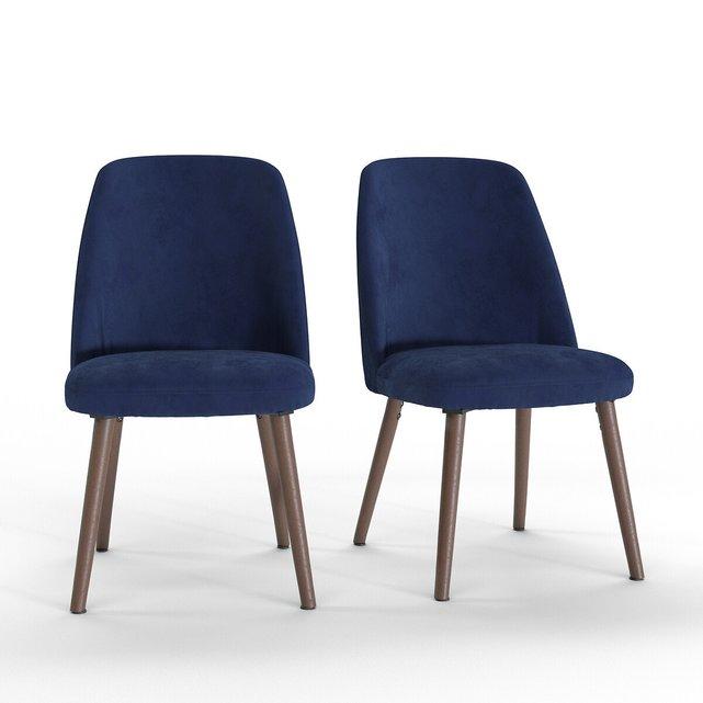 Βελούδινη καρέκλα WATFORD (σετ των 2)