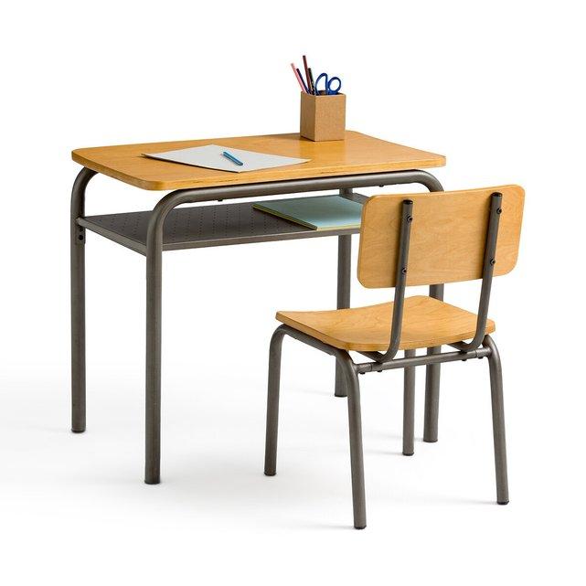 Σχολική καρέκλα και γραφείο vintage Buton