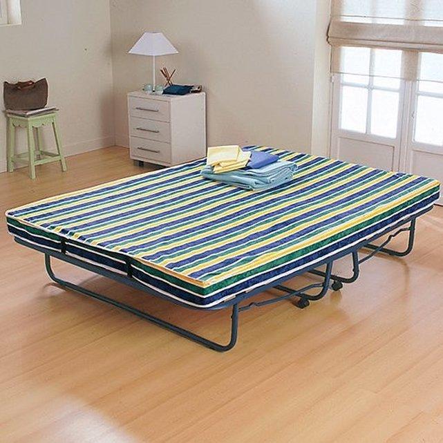 Πτυσσόμενο κρεβάτι κε αναδιπλούμενο στρώμα