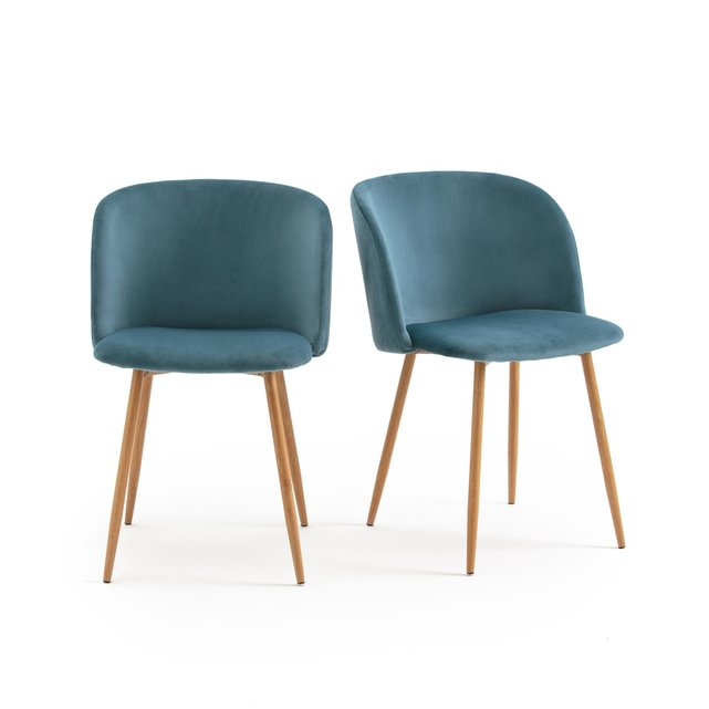 Πολυθρόνες από ξύλο βελανιδιάς, Σετ 2 Τμχ
