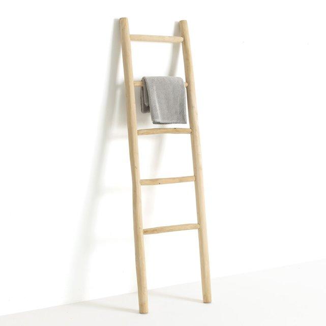 Σκάλα για πετσέτες από μασίφ τικ, Arzhel