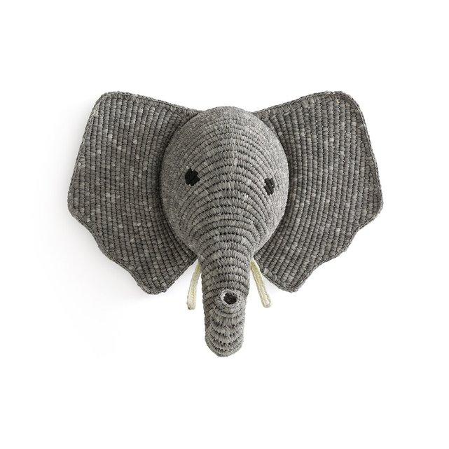 Κρεμαστό τοίχου ''κεφάλι ελέφαντα'' Lapilli