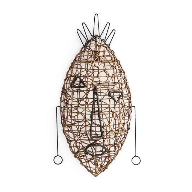 Αφρικανική μάσκα ρατάν Yanaelle, μοντέλο 2