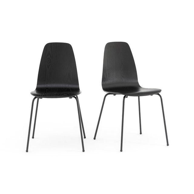 Καρέκλα vintage Biface (σετ των 2)