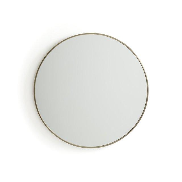Μεταλλικός καθρέφτης Caligone, διάμετρος 80 εκ.