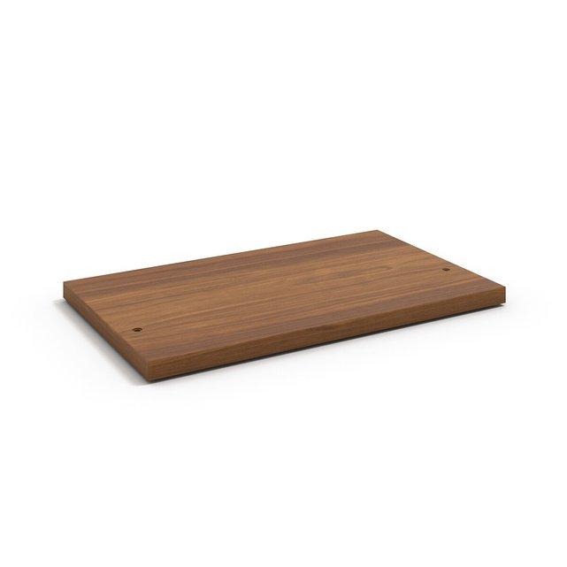 Ράφι 60εκ. με εφέ ξύλου καρυδιάς, Johannez