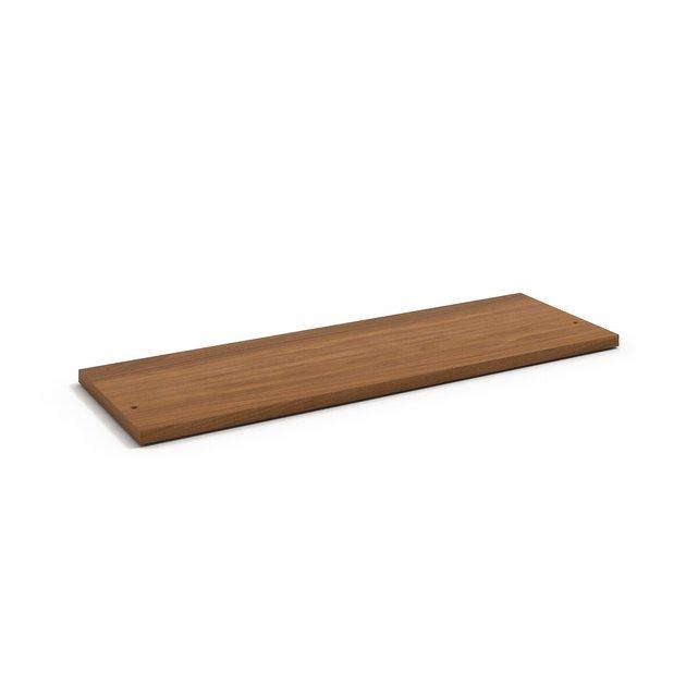 Ράφι 110εκ. με εφέ ξύλου καρυδιάς, Johannez