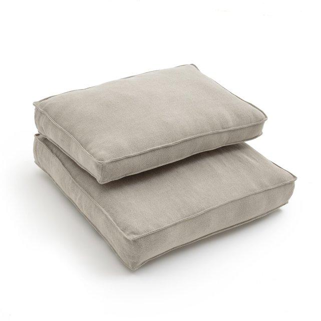 Μαξιλάρια από λινό, για την πολυθρόνα Dilma