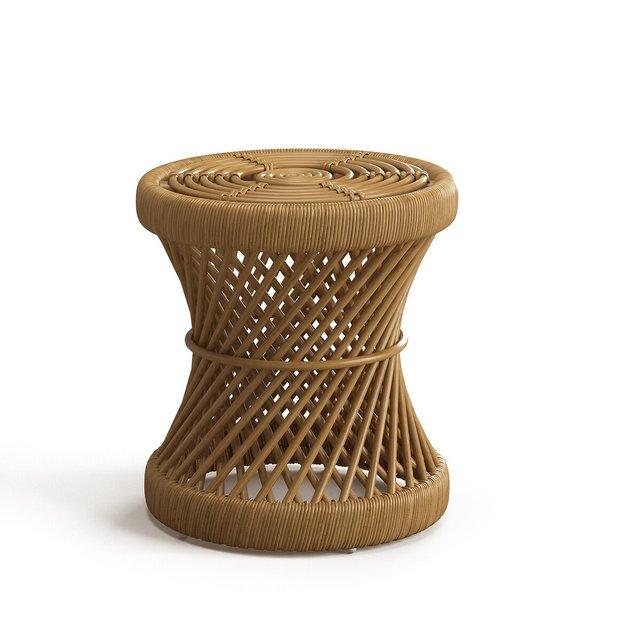 Κομοδίνο ή σκαμπό από ρατάν Malu