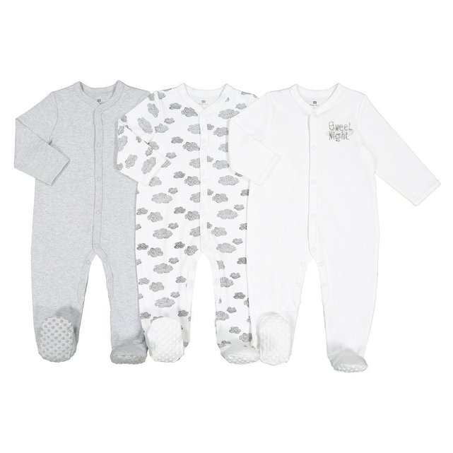 Πυτζάμες με μοτίβο όνειρο, 0-2 ετών (σετ των 3)