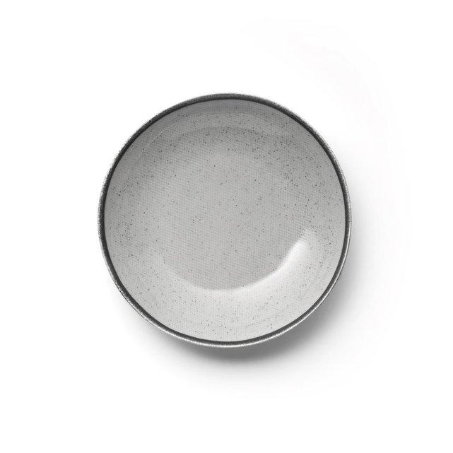 Βαθιά πιάτα από εμαγιέ κεραμικό Anika (Σετ των 4)