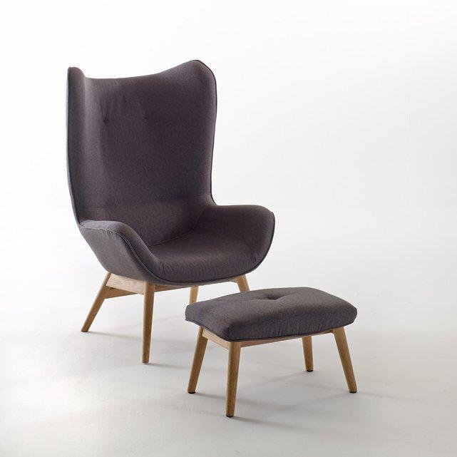 Πολυθρόνα και υποπόδιο Crueso